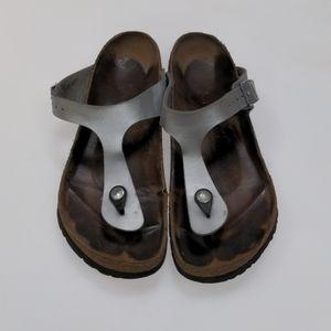 Birkenstock Gray Sandals Size 40